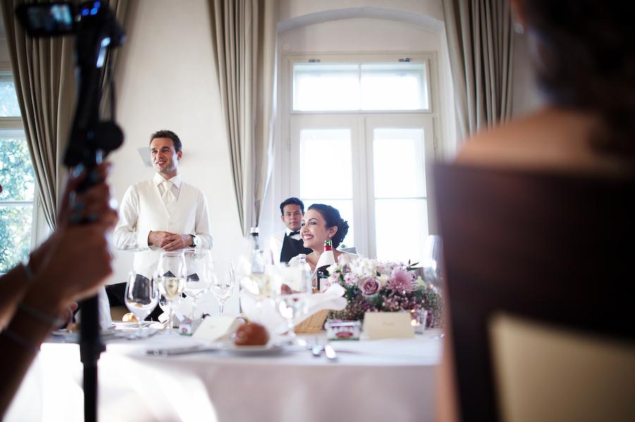 Schloss Maria Loretto wedding