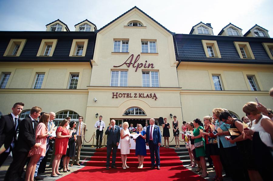 wesele hotel Alpin