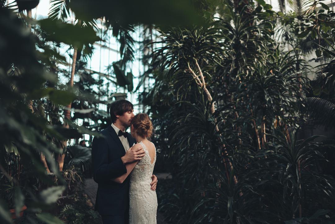 palmiarnia Gliwice sesja ślubna
